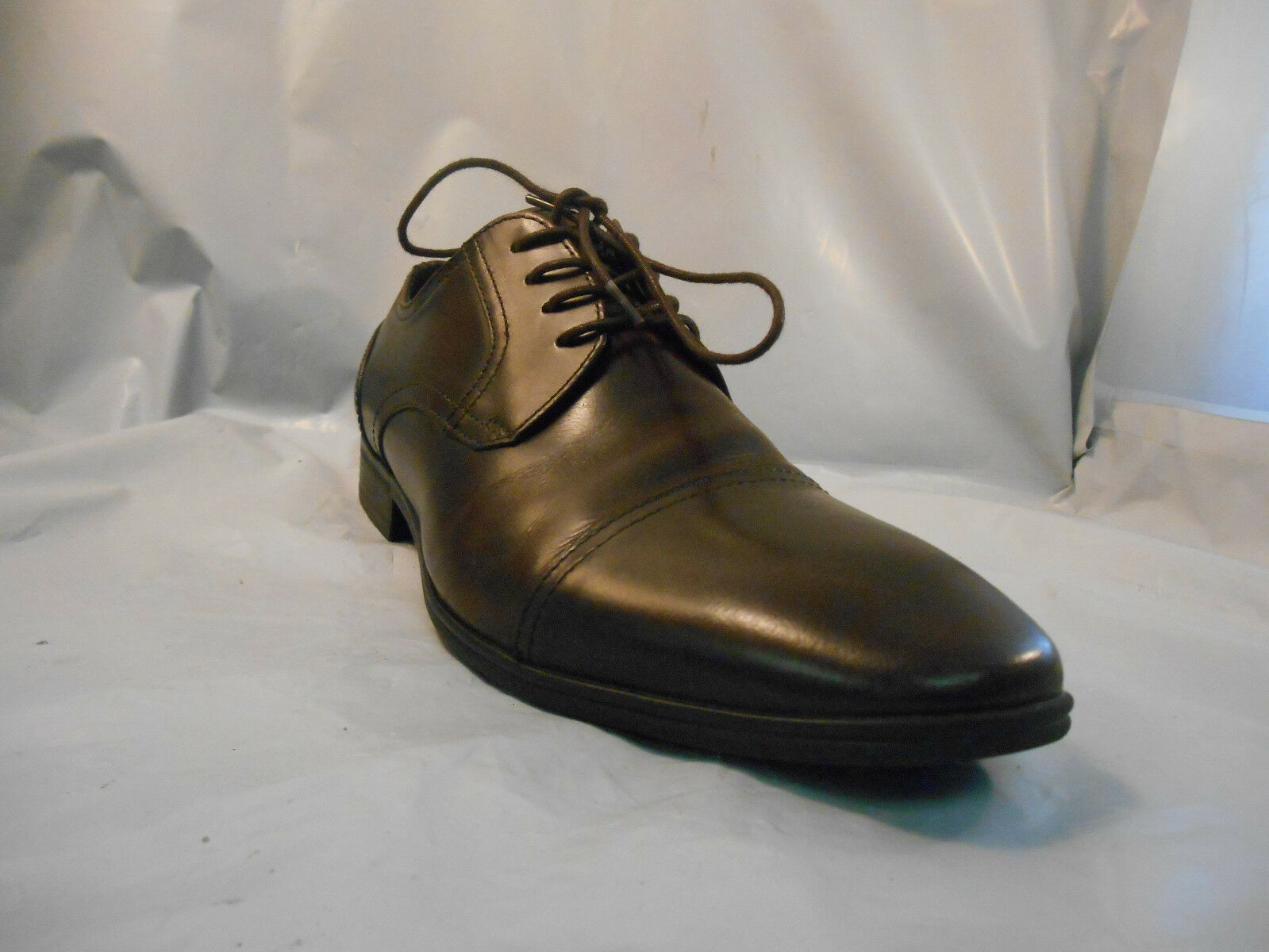 Kenneth Cole Reaction In A Min-ute Brown Leather Oxfords Dress shoes Men's 8 M