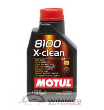 1x 1 Liter MOTUL 8100 X-clean 5W-40 Motoröl Öl für Audi Ford MB Opel Renault VW