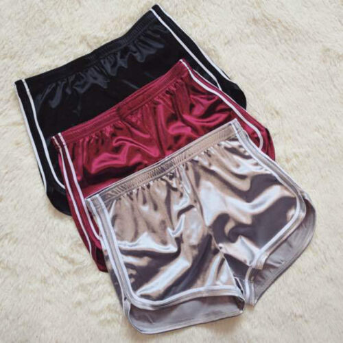 Sport Mid Crushed Rise Pantaloncini Velvet Bottom Velour sportivi sexy donna F tPqqw4HA