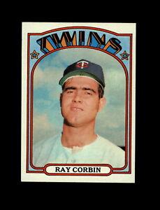 1972-Topps-Baseball-66-Ray-Corbin-RC-Twins-NM