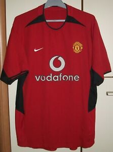 d38f99b0ba0 Image is loading Manchester-United-2002-2003-2004-Home-football-shirt-