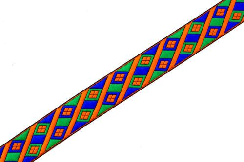 de ancho de la cinta del telar jacquar del patio Recortar tejido costura banda T273 3,4 cm 3,40 cm