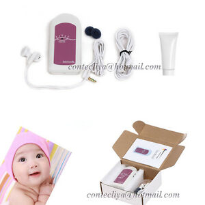 New-Ultrasound-Fetal-doppler-monitor-Baby-Heart-beat-prenatal-monitor-Gel-CE-FDA