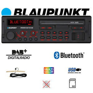 BLAUPUNKT-Bremen-SQR-46-DAB-Bluetooth-DAB-Digitalradio-MP3-USB-Retro-Autoradio
