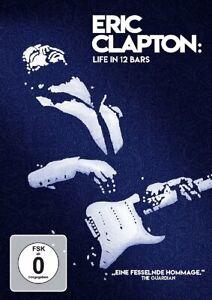 Eric Clapton: Life in 12 Bar (OMU) [DVD/Nuovo/Scatola Originale] film ritratto delle blues, rock