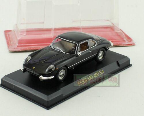 1//43 Ferrari Collection 400 SA Black Mini Car Display Diecast