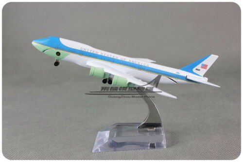 New AIR FORCE ONE UNITED STATES OF AMERICA BOEING 747-200 Airplane Diecast Model