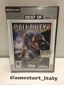 CALL OF DUTY 2 - PC GAMES - NEUF ET SCELLÉ - NEW SEALED - COMPUTER VIDEOGAMES
