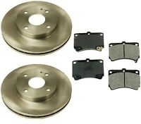 Mazda 323 90-94 L4 1.6l Front Brake Kit With Brembo Rotors And Advics Pads on sale