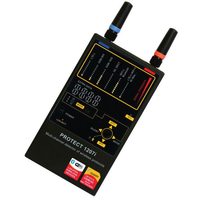 Protect 1207i  Spy Camera Hidden Phone Detector Device Bugs Counter Surveillance