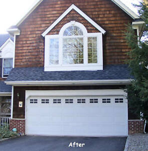 Merveilleux Image Is Loading FAUX WINDAUX DECORATIVE GARAGE DOOR WINDOWS DOUBLE KIT