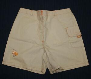 JACADI-Girl-039-s-Court-String-Beige-amp-Orange-Fish-Shorts-Sz-3-Years-NEW-38