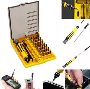Screwdriver Bit Set 45in1 Small Screwdrivers Watch Glasses Computer Repair Kit - <span itemprop='availableAtOrFrom'>UK, United Kingdom</span> - ****Please message us to gain for free copy of full warranty details.**** 1. This product comes with one-year warranty.Buyers must contact us first for the exchange within the warranty period. - UK, United Kingdom
