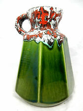 "Unusual / ungewöhnliche 70´s design Roth / Marei ?  "" Fat Lava ""  Keramik Vase"