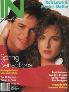 IN-Fashion-magazine-March-April-1988-Rob-Lowe-Marlee-Matlin-053019DBE