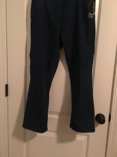 Super Rogers Bukser Kvinders Denim Tøj Blue Jeans Sz 12p Stretch Kim 5qBwxnfYgg