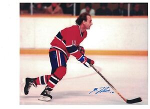 save off 9aa4e 418bc Details about GUY LAFLEUR AUTOGRAPH 8x10 PHOTO SIGNED MONTREAL CANADIENS