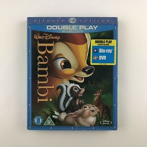 Bambi (Blu-ray and DVD Combo, 2011, 2-Disc Set) s