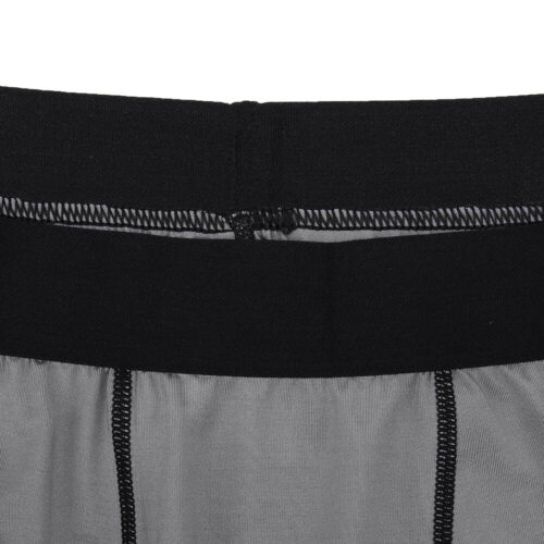 Men/'s Compression Shorts Athletic Sports Workout Quick-dry Bottom Plain Stretchy