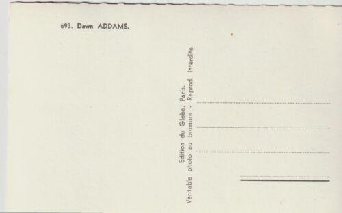 Cpa Dawn Addams n°693 ed du globe photo studio harcourt