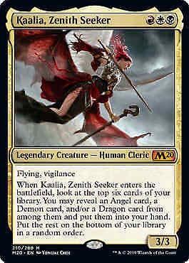 Zenith Seeker Kaalia Core Set 2020 MTG Magic Mythic Rare NM