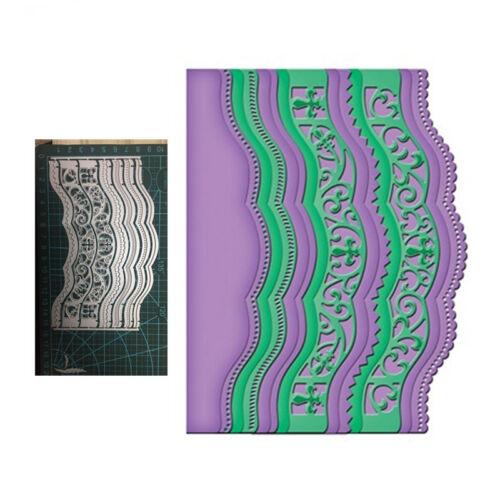 Variety Lace Wavy Metal Cutting Dies Scrapbooking Embossing Card Craft Decor DIY