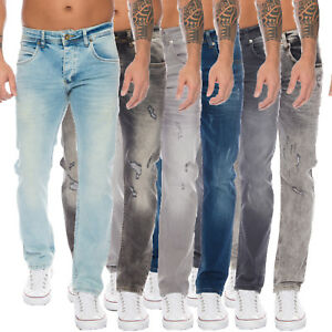 Rock-Creek-Herren-Jeans-Hose-Stretch-Regular-Fit-Basic-Jeanshose-W29-W44-M19