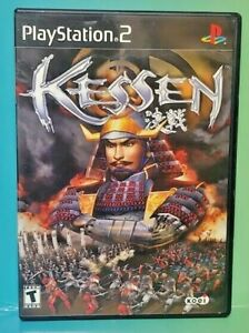 Kessen I 1 - KOEI -  PS2 Playstation 2 Game 1 Owner FLAWLESS Mint Disc