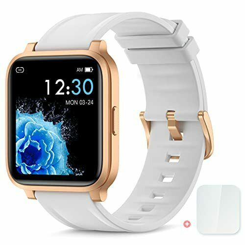 Smart Watch Fitness Tracker for Women Men Activity Watch and Heart Rate Monitor