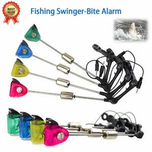 LED-Pro-Illuminated-Fishing-Swinger-Bite-Indicator-Carp-amp-Pike-Fishing-4-Colors