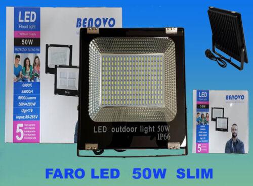 Faro Spotlight LED Cold Light 50w Watts Outdoor Slim Premium Quality