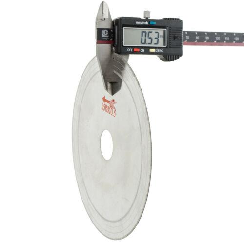 """5Pcs 6/"""" pouces Super-Mince alésage 25 mm jante 0.6 mm Diamond lapidary Saw Blade"""