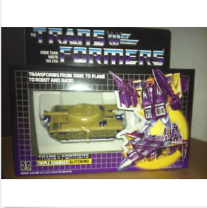 Transformer G1 Blitzwing brand new Gift High Quality shipped by speedpak