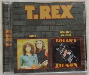 T. REX - T - REX - BOLAN'S ZIP GUN - 29 Tracks - LIKE NEW - CD
