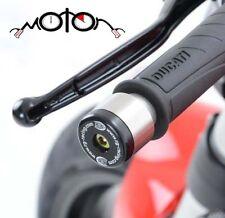 R&G Bar End Sliders Ducati 848/Diavel & Monster 1200 S '14 BE0023BK