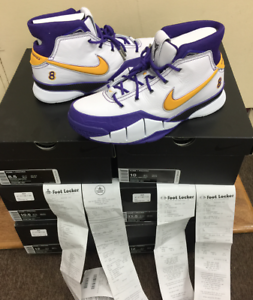 Nike Kobe 1 Protro Think 16 Close Out Final Seconds AQ2728-101 Authentic Sz 8~13 The latest discount shoes for men and women