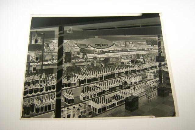 #1196-D PHOTO NEGATIVE - 1967 CINZANO LIQUOR - CHICAGO #4