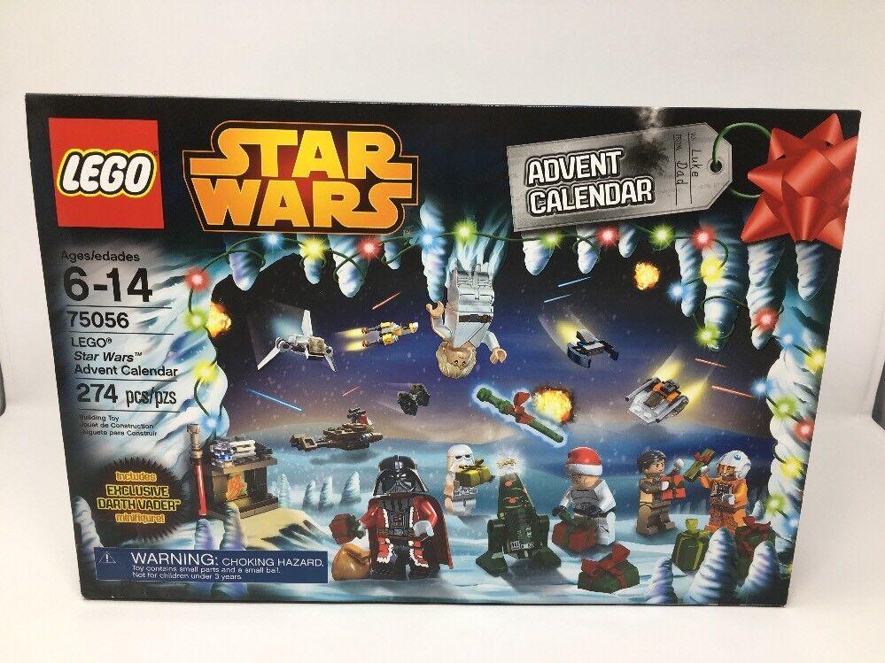 NEW STAR 75056 LEGO BOX STAR NEW WARS 2014 ADVENT CHRISTMAS CALENDAR-274 PIECES 406d02