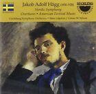 Jakob Adolf Hägg: Nordic Symphony; Overtures; American Festival Music (2016)
