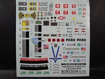 COLORADO  2497 DECALS 1//24 AUDI R10 TDI  LE MANS 2008