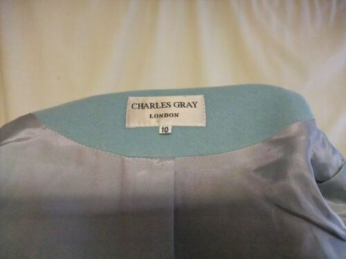 Charles Jacket Uk Ice Grey Fitted Wool Ladies Colour Blue 7433 10 Short Blend 5UndqwwxWC
