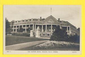 cpa-Old-Postcard-CANADA-CHUTES-NIAGARA-FALLS-The-Clifton-Hotel-Photo-F-H-LESLIE