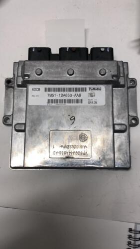 Original Ford Motorsteuergerät ECU Steuergerät  7M51-12A650-AAB