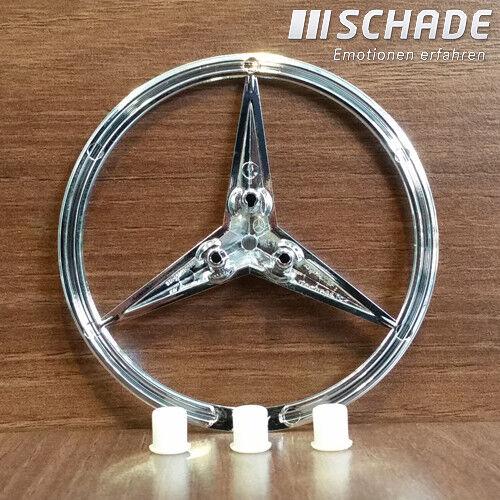 Original Mercedes Stern Emblem Logo Set Heckdeckel C-Klasse Lim W203 A2037580058