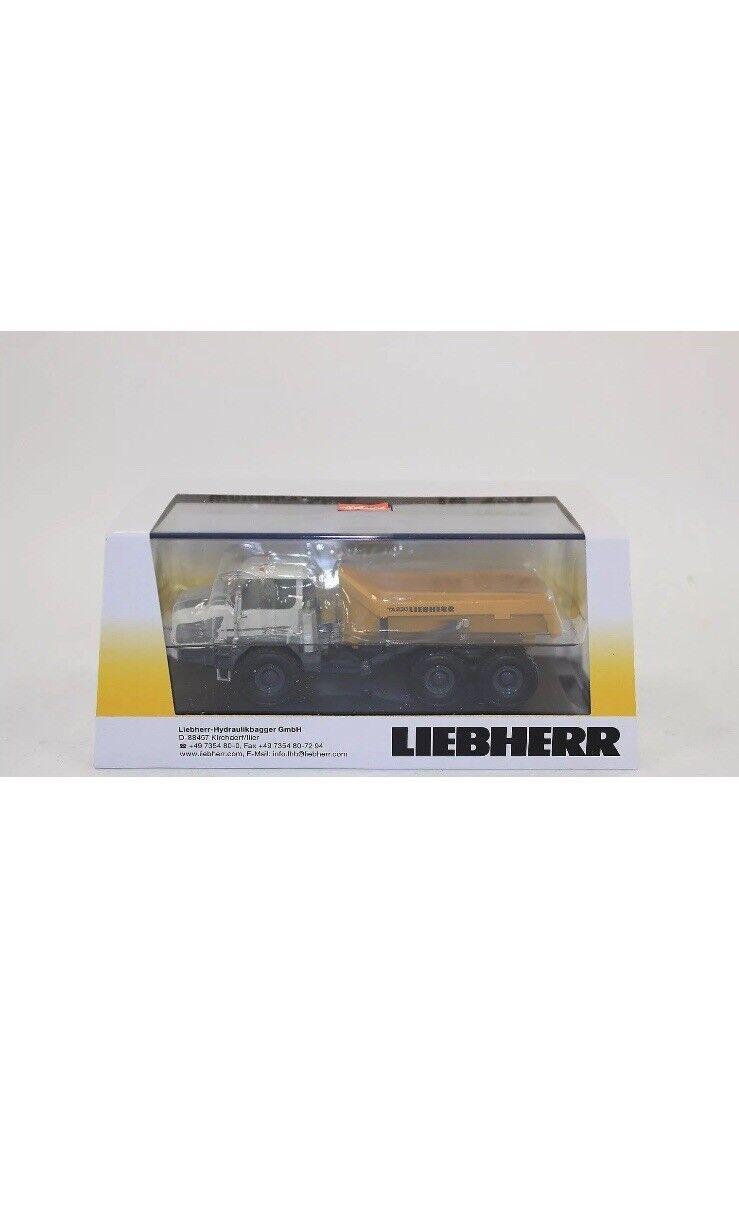 Véritable rare Liebherr TA 230 Camion Benne 1 87 Schuco (concessionnaire modèle)