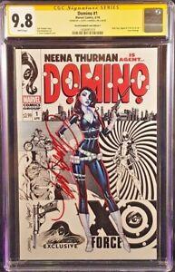 MARVEL-Comics-DOMINO-1-CGC-SS-9-8-Campbell-C-X-MEN-DEADPOOL-CABLE-WOLVERINE-X23