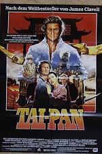 (P154) KINOPLAKAT Tai-Pan (1986) Bryan Brown, Joan Chen, John Stanton