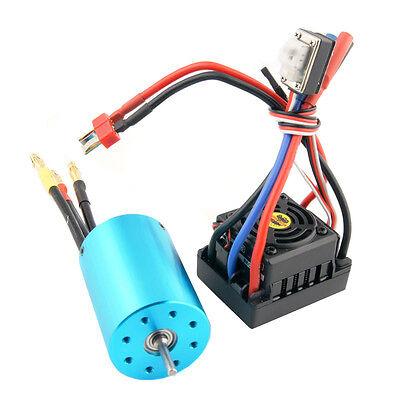 RC HSP 107051 03302 Brushless kv3300 Motor + 37017 03307 Brushless ESC 60A