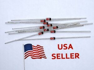 1N34A-Germanium-Diode-DO-35-DO35-1N34-10-Pieces-USA-SELLER