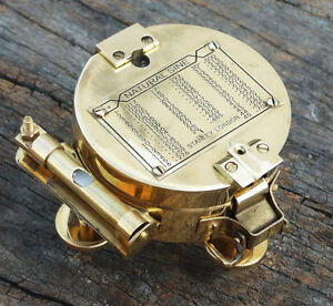 """Brass Stand Brunton Surveying Compass Geological Antique Maritime Gifts 3"""""""